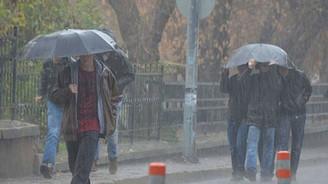 Beş il için kuvvetli yağış uyarısı