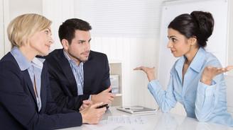 İş görüşmelerinin sonunda rahatlayıp bu sözleri söylemeyin