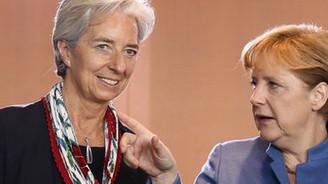 Merkel, Lagarde ile görüşecek