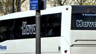 HAVAŞ'ın yolcu taşıma hizmeti durduruldu
