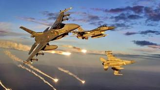 PKK'ya ait 7 hedefe hava harekatı
