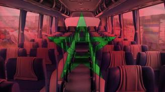 Fas'ın otobüs koltukları Türkiye'den