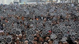 Binlerce kişi Hrant için yürüdü