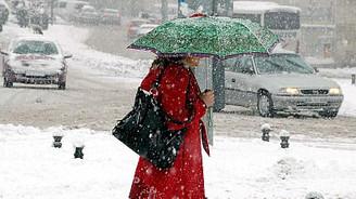 İstanbul ve Ankara'ya etkili kar geliyor