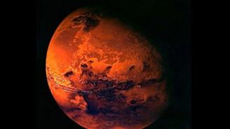 Kızıl gezegen çok kurak
