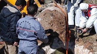 Dargeçit'te insan kemikleri bulundu