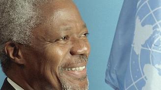 Kofi Annan yarın Türkiye'ye gelecek