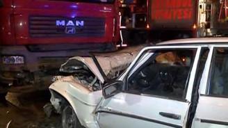 Başakşehir'de kaza: 3 ölü 3 yaralı