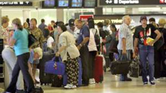 Yabancı ziyaretçi sayısı yüzde 7,8 arttı