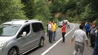 Maçka'da teröristlerle sıcak temas: 1 polis yaralı