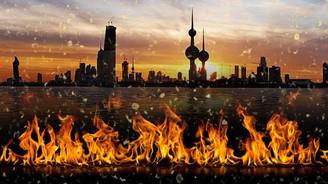 Kuveyt'e yangınla mücadele ekipmanı