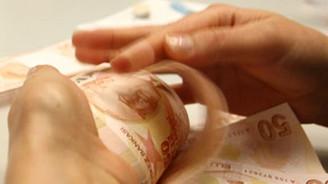Kredi hacmi 867,8 milyon lira azaldı