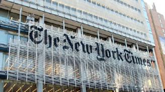 NY Times ilk çeyreği karla kapattı