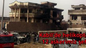 Helikopter düştü, 12 asker şehit