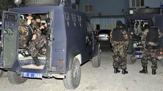 Operasyona 500 polis katıldı