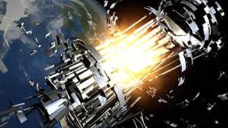 Çöp, Uzay İstasyonunu teğet geçti