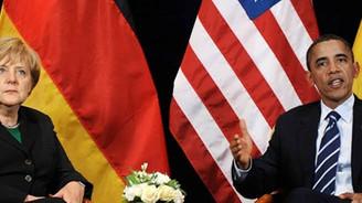 Obama'dan, Merkel'e güvence