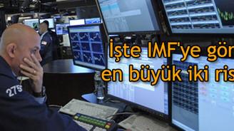 İşte IMF'ye göre en büyük iki risk!