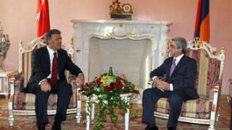 Gül'le Sarkisyan 'Kafkaslar'ı görüştü