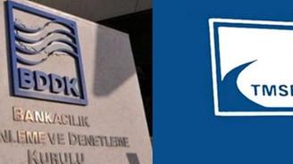 BDDK ve TMSF için iki isim imzaya açıldı