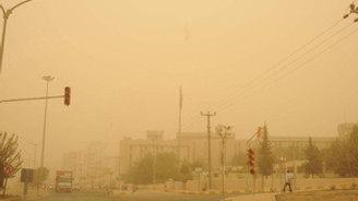 Eskişehir'i toz kapladı