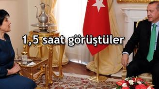 Erdoğan, Leyla Zana'yı kabul etti