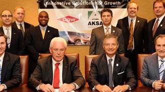 Dow ve Aksa ortak girişim kurdu