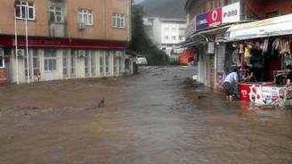 Samsun'da sel tekrar can aldı