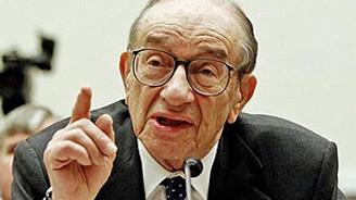 Greenspan'dan zayıf kur uyarısı