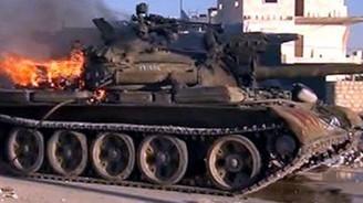 Halep'te tanklar yürüyor