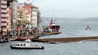 Karaköy'e 'geçici iskele' yapılıyor