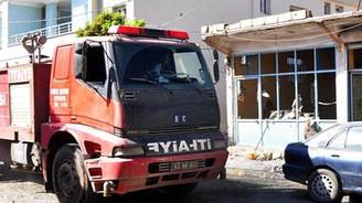 Suriye'den gelen top mermisi Akçakale'ye düştü