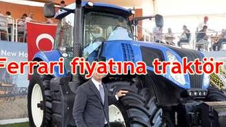 Ferrari fiyatına traktör