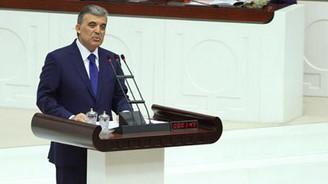 Abdullah Gül Meclis açılışında konuştu