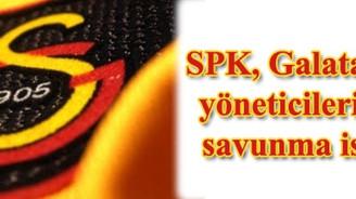 SPK, Galatasaray yöneticilerinden savunma istedi
