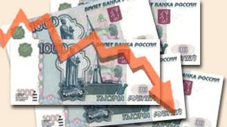 Ruble erimeye devam ediyor