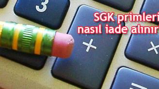 SGK primleri nasıl iade alınır?