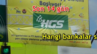 HGS etiketini hangi bankalar satıyor?