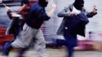 Ataşehir'de maskeli banka soygunu