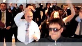 Gangnam çılgınlığına Aras Kargo da katıldı