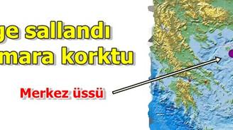 Ege sallandı, Marmara korktu