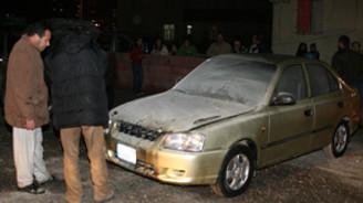 6 araç kundaklandı
