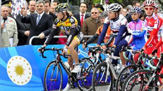 Türkiye Bisiklet Turu için start verildi
