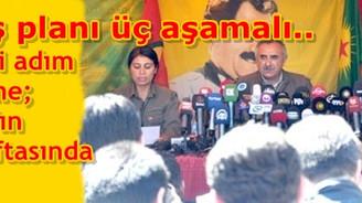 PKK 3 aşamada Kuzey Irak'a çekilecek