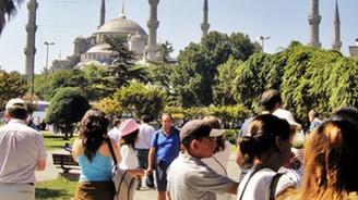 Yabancı turist sayısı düştü