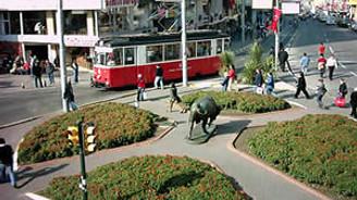 Kadıköy'de bazı yollar trafiğe kapalı