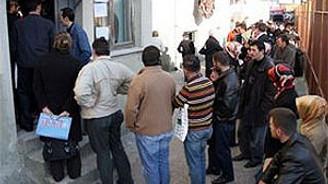 İşsizlik ödeneğine  55 bini aşkın kişi başvurdu