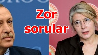 Tarhan'dan Erdoğan'a zor sorular