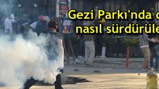 Gezi Parkı'nda direniş nasıl sürdürülecek?