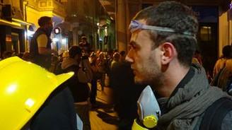 Gazeteci Filoğlu plastik mermi ile vuruldu